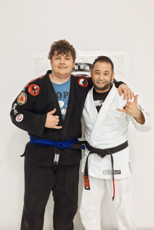Congratulations to Jacob on Earning His Blue Belt from Quincy Brazilian Jiu-Jitsu