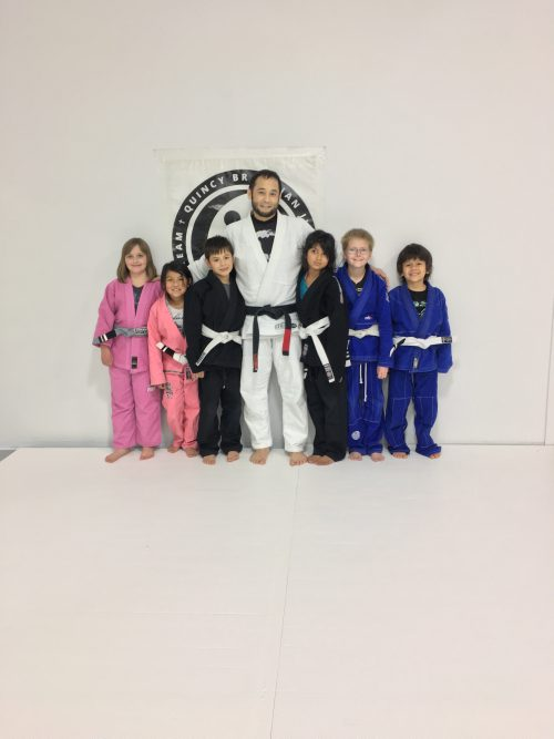 Congratulations to Alexis, Starr, Julian, Alex, Jackson and Asher on Earning Their New Stripes from Quincy Brazilian Jiu-Jitsu