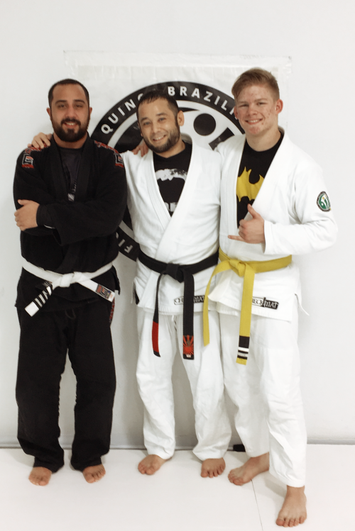 Congratulations to Joel and Hunter on Earning Another Stripe