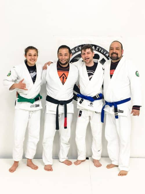 Congratulations to Mai Mai, Devon & Silvie on their new stripes from Quincy Brazilian Jiu-Jitsu in Grant County, WA