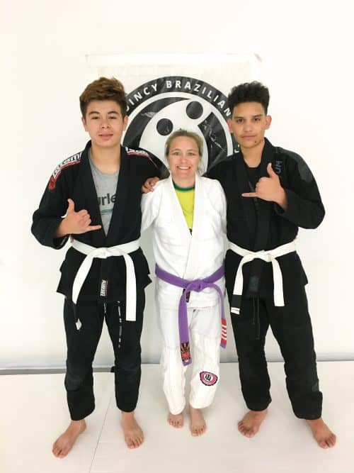 Congratulations to Ezekiel and Alvaro on Earning Their First Stripes from Quincy Brazilian Jiu-Jitsu