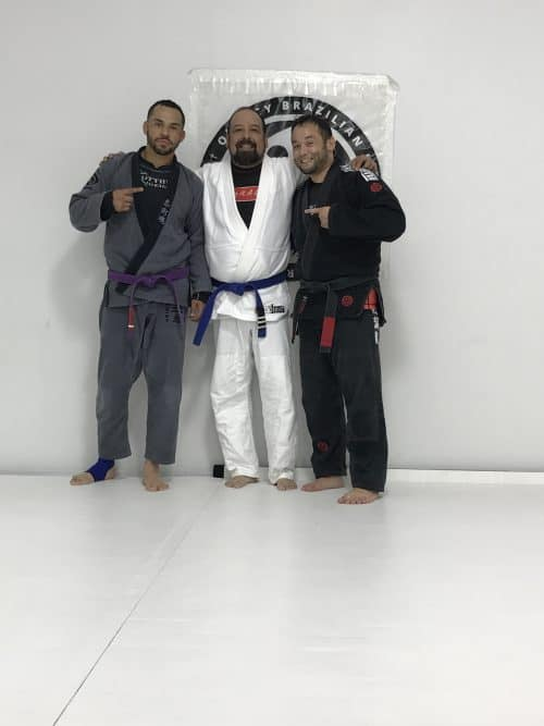 Congrats to Silvie & Edson earning another stripe From Quincy Brazilian Jiu-Jitsu