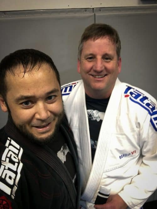 Congratulations to Steve Smith, earning his first stripe at Quincy Brazilian Jiu-Jitsu