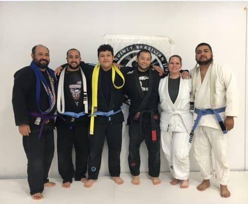 Congrats to Tony, Lalo, Trytan, Sebastian and Joel on being promoted at Quincy Brazilian Jiu-Jitsu