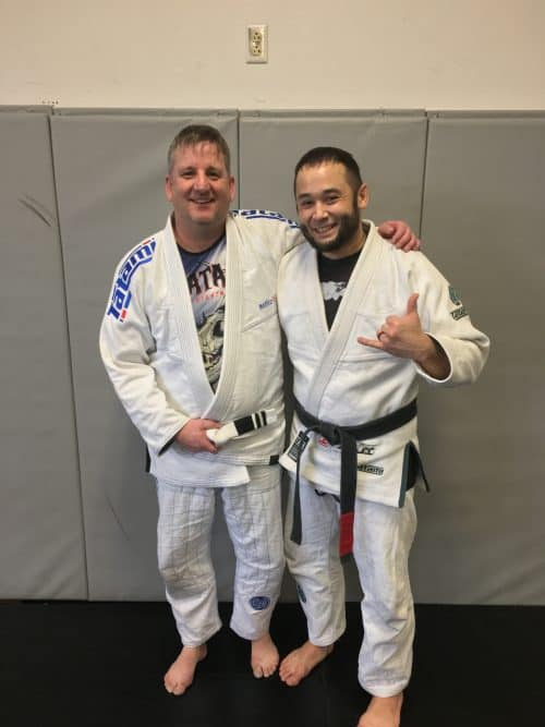 Congrats to Steve on Earning His 2nd Stripe