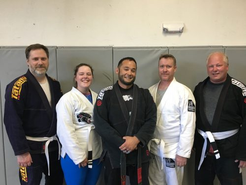 Congrats to Paul, Hannah, Jon and Bob Earning Stripes From Quincy Brazilian Jiu-Jitsu