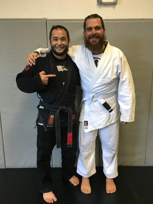 Congrats to Hans Earning His First Stripe from Quincy Brazilian Jiu-Jitsu