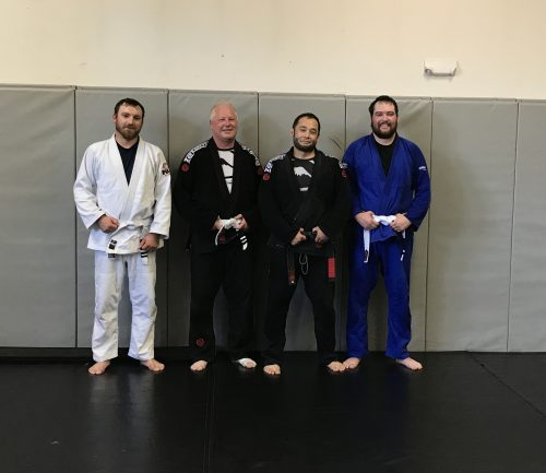Congrats to Bryan, Bob and Trace on earning their Stripes from Quincy Brazilian Jiu-Jitsu