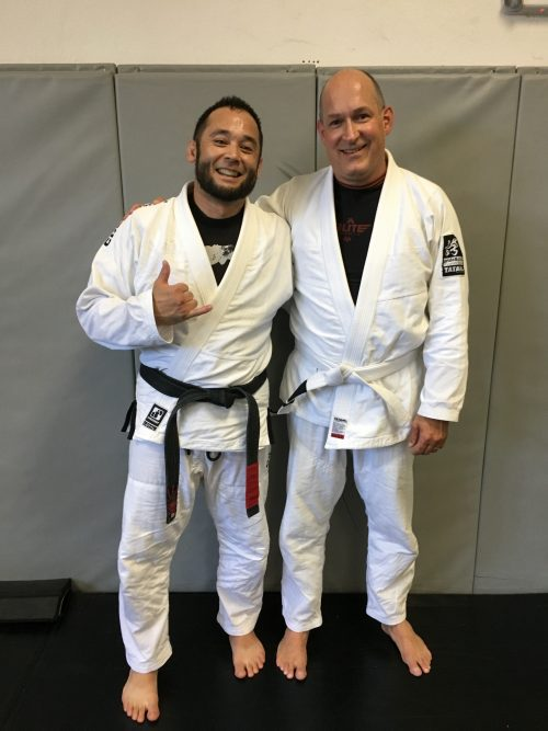 Congratulations to Andreas on Earning His First Stripe from Quincy Brazilian Jiu-Jitsu