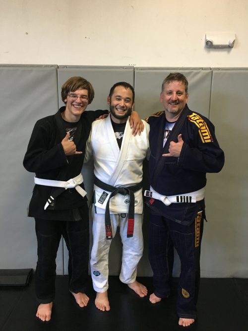 Congratulations to Hirem and Steve Earning Stripes from Quincy Brazilian Jiu-Jitsu