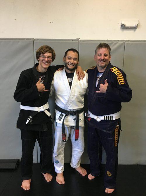 Congratulations to Hirem and Steve Earning Stripes from Quincy Brazilian Jiu-Jitsu