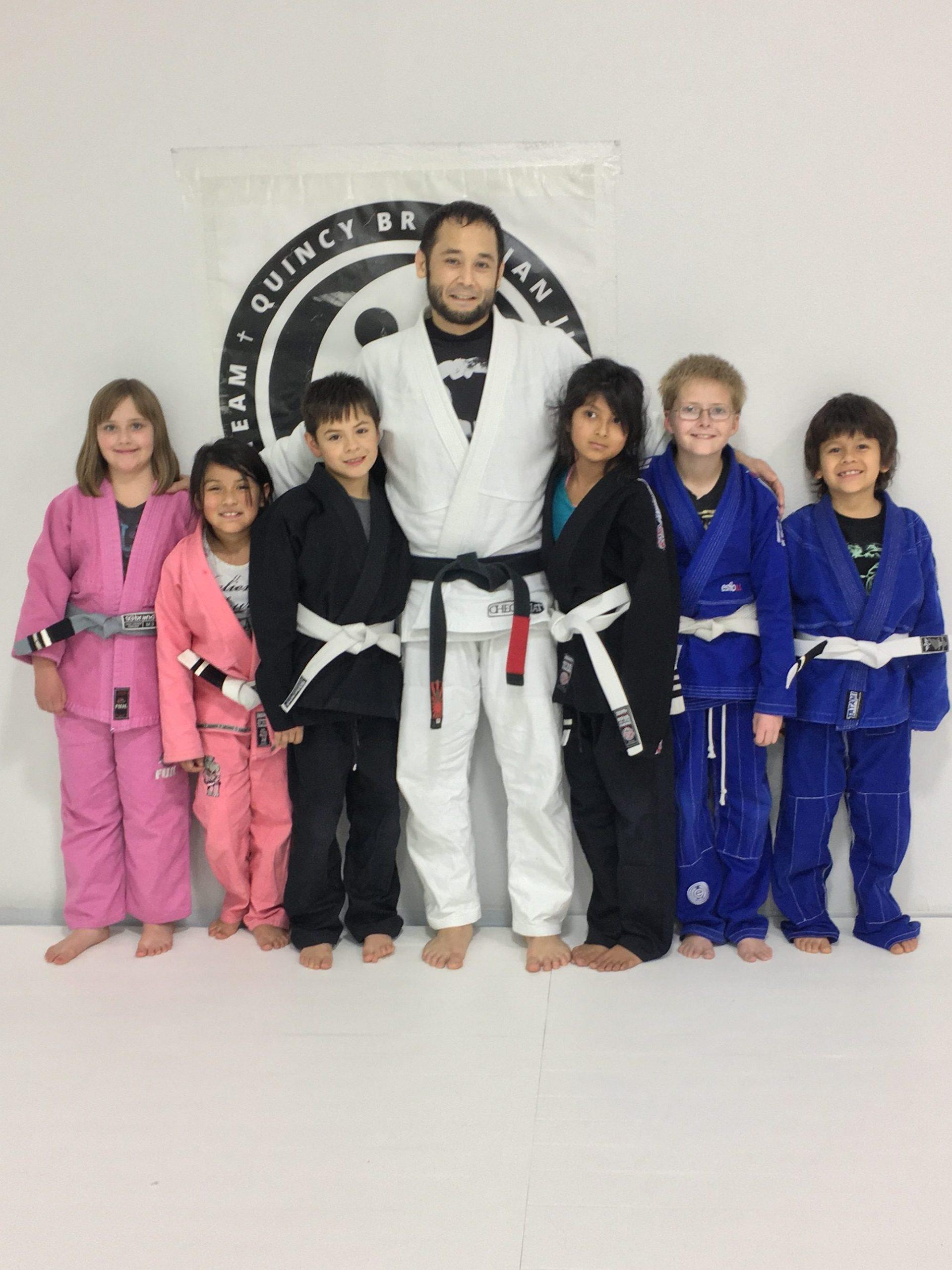 Congratulations to Alexis, Starr, Julian, Alex, Jackson and Asher on Earning Their New Stripes from Quincy Brazilian Jiu-Jitsu